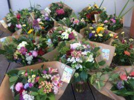 Bouquets de fleurs fraiches